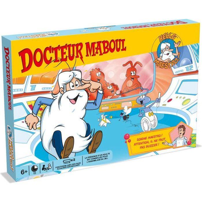 DOCTEUR MABOUL - Hello Maestro la vie - Jeu de société - Version française - 0477