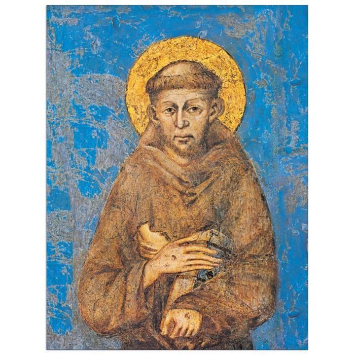CIMABUE-San Francesco d Assisi - Achat / Vente tableau - toile - Cdiscount