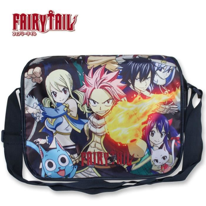 Fairy Sac Anime Cosplay Natsu En Tail À Bandoulière Satchel Nylon Bag aOW1nqnZ