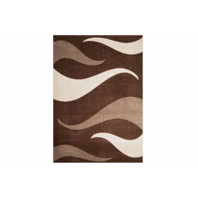 tapis design les bons plans de micromonde - Tapis Marron