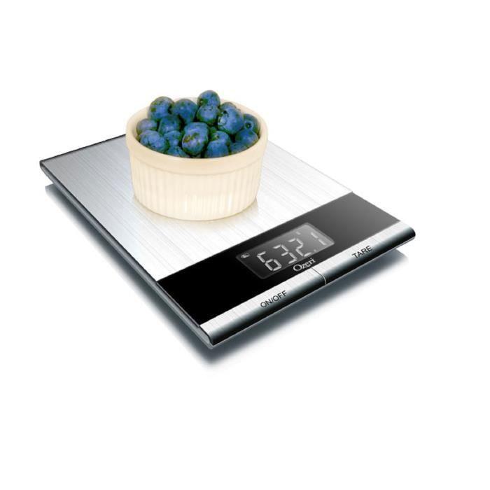 Ozeri Balance De Cuisine Professionnelle Digitale En Acier