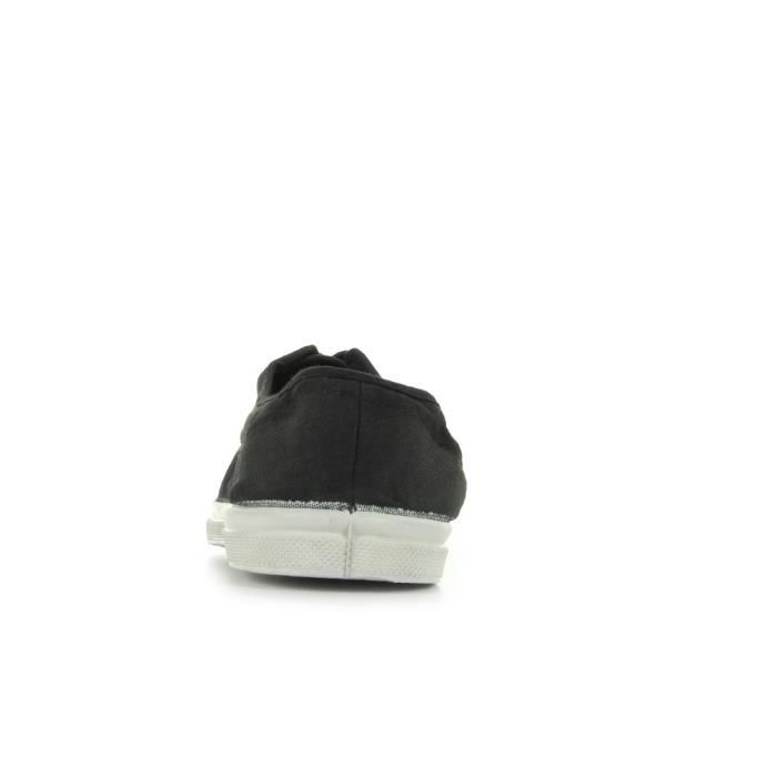 Baskets Bensimon Tennis Lacets Carbone