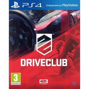 JEU PS4 Drive Club Jeu PS4