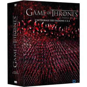 Dvd Game Of Thrones Saisons 1 à 4