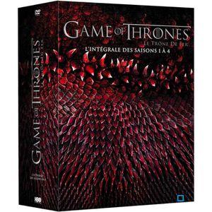DVD SÉRIE DVD Coffret game of thrones, saisons 1 à 4
