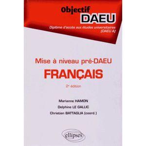 CLÉ USB Français mise à niveau pré-DAEU. 2e édition