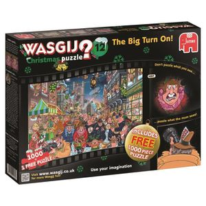 CASSE-TÊTE Noël 12 Qu'allume La Grosse ! 1000 Piece Jigsaw Pu