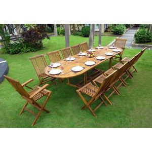 table de jardin 12 personnes achat vente table de. Black Bedroom Furniture Sets. Home Design Ideas