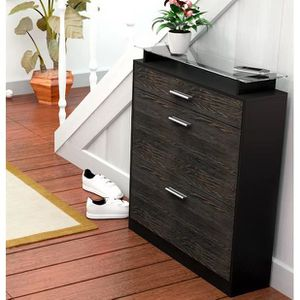 meuble chaussure wenge achat vente meuble chaussure. Black Bedroom Furniture Sets. Home Design Ideas