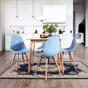 CHAISE Lot de 4 Chaises au Design Moderne de Style Chaise
