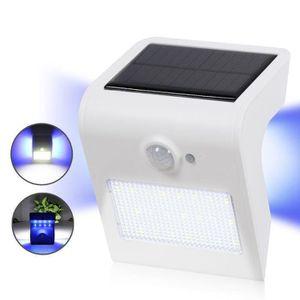 APPLIQUE EXTÉRIEURE Applique LED solaire d'extérieur avec 3 modes d'éc