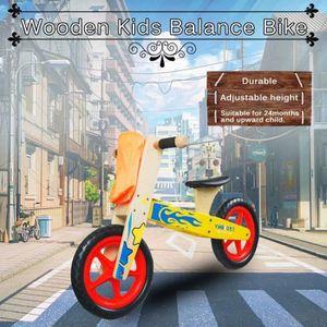 DRAISIENNE MM-Bébé Balance Vélo Auto-équilibrantEnfants Walk