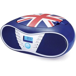 RADIO CD CASSETTE BIGBEN CD58GB Radio CD/USB/MP3 portable - United k