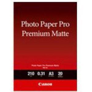 PAPIER PHOTO CANON Papier Photo Premim Mat PM-101 - A3 - 20 feu