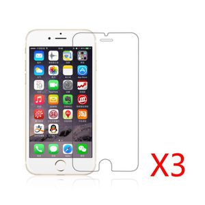 FILM PROTECT. TÉLÉPHONE Elenxs® Lot de 3 Pcs Verre Trempé Iphone 6/6s (4.7