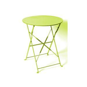 Table de jardin ronde vert - Achat / Vente Table de jardin ...