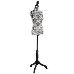 BUSTE - MANNEQUIN TECTAKE Mannequin de Couture, de Vitrine, Buste Dé