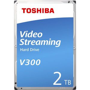 DISQUE DUR INTERNE TOSHIBA - Disque dur Interne - V300 - 2To - 5 700