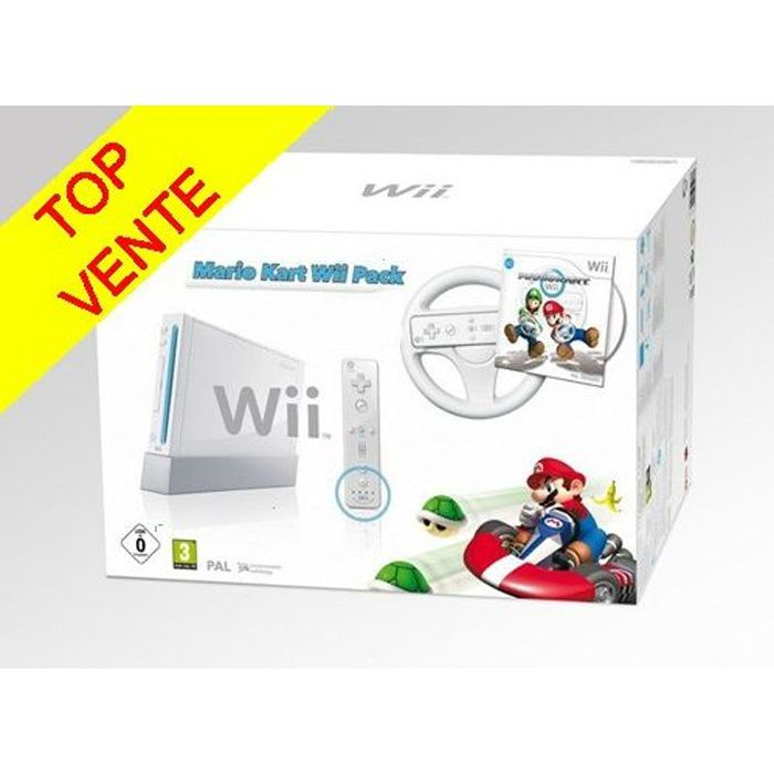 consoles wii wii mini achat vente pas cher soldes d s le 10 janvier cdiscount. Black Bedroom Furniture Sets. Home Design Ideas