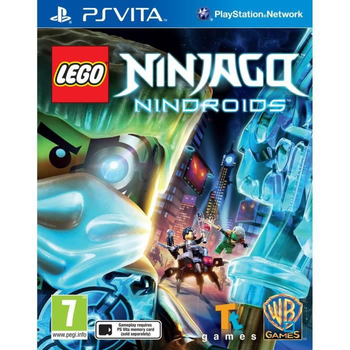 lego ninjago nindroids jeu ps vita achat vente jeu ps vita lego ninjago nindroids psvita. Black Bedroom Furniture Sets. Home Design Ideas