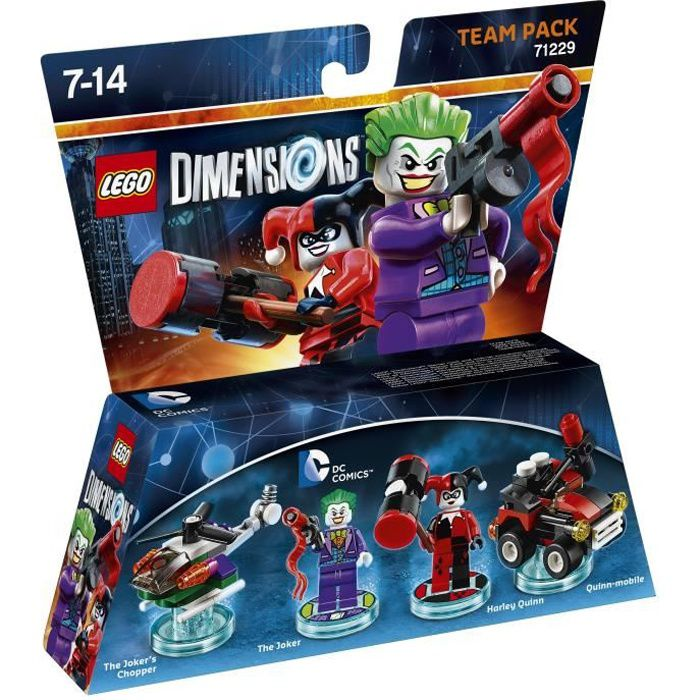 FIGURINE DE JEU Figurines LEGO Dimensions - The Joker et Harley Qu