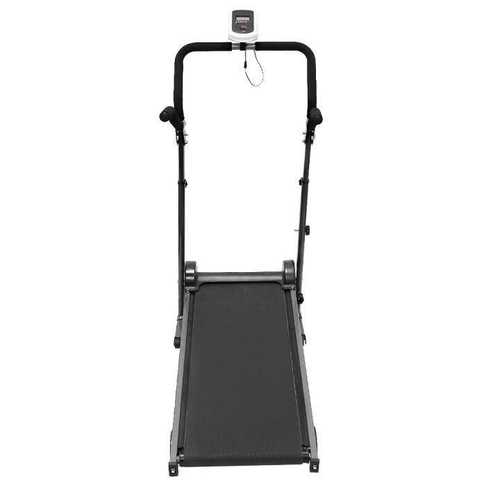 FIRNOSE Tapis de course Mécaniques, Petite multifonctionnel de la machine à pied de jogging avec Accoudoir allongé - Perte de poids