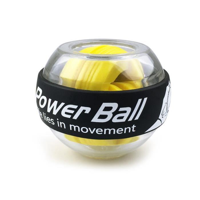 Entraîneur boule poignet, Gyroscope, renforcement des bras, équipement de gymnastique et d'exercice pour les bras,