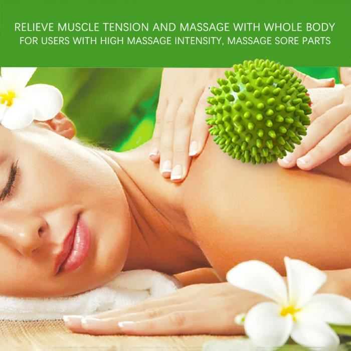 BALLON SUISSE - GYM BALL - SWISS BALL Massage Muscle Relaxation PVC Arbre Pied Massage Rouleau Plantaire Fascia Boule Nom
