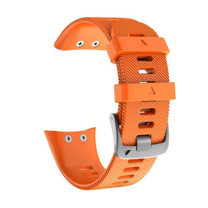 Accessoires de bracelet intelligent Sports Soft Silicone Replacement Watch Band Wriststrap for Garmin Forerunner 45 A864