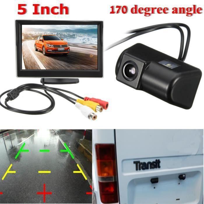 4.3'' Écran Moniteur Vue Arriere Caméra Recul CCD Connecteur Pour Ford Transit WYK56491