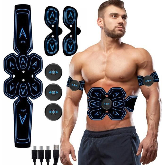 Electrostimulateur Musculaire,Ceinture Abdominale Electrostimulation,EMS Stimulateur Abdominal Electrostimulation