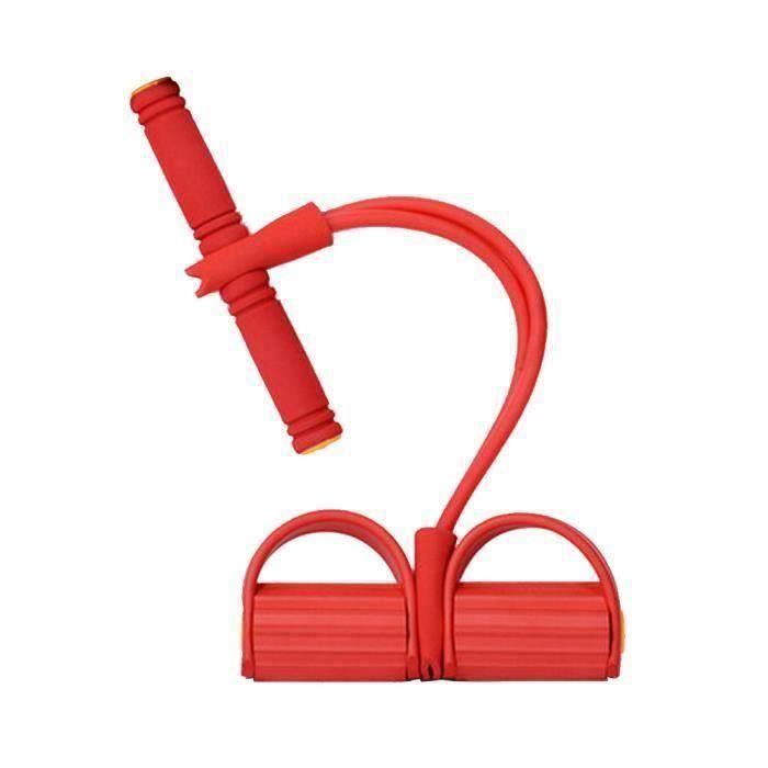 Bandes de résistance exercice, Crossfit, Fitness exercice Cords, rouge la33446
