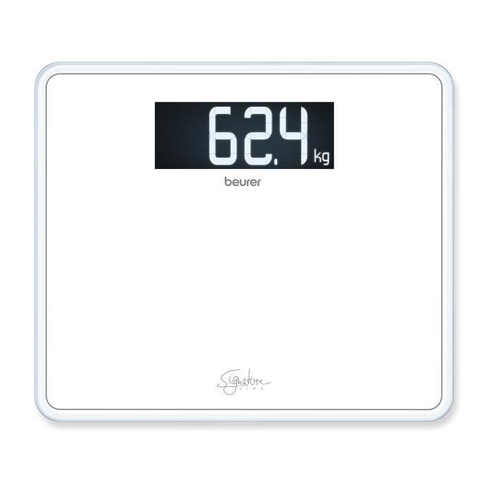 Beurer GS 410 Pèse-personne Signature Line - blanc