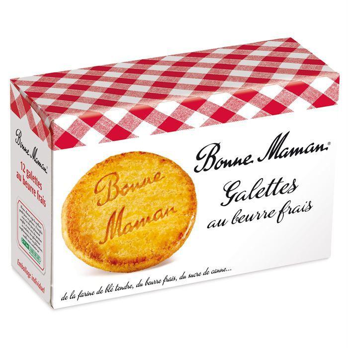 Galettes au beurre frais 170 g BONNE MAMAN