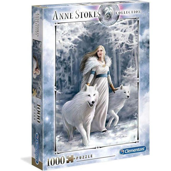 Clementoni 39477. Anne Stokes. Puzzle 1000 pièces.