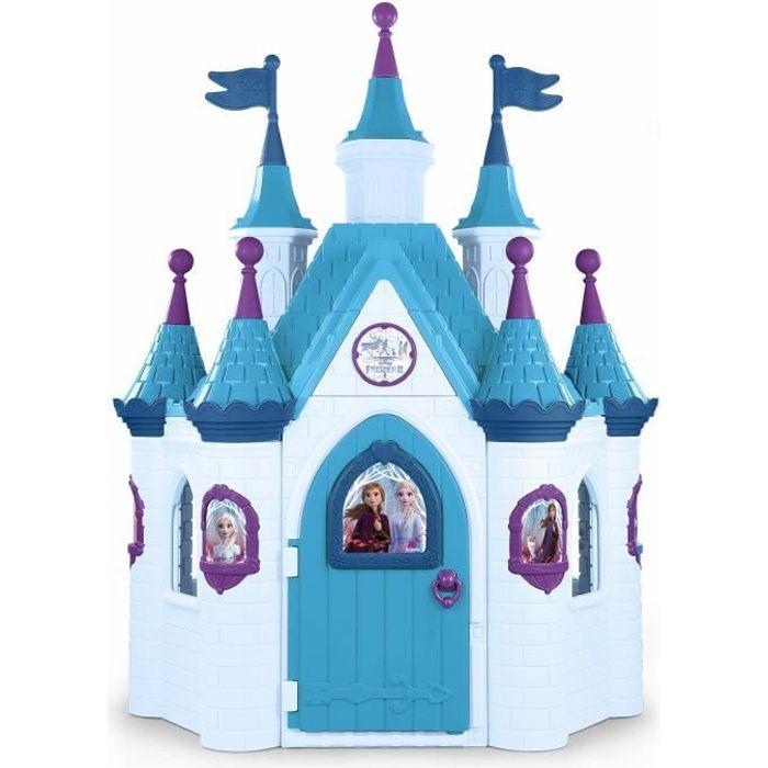 Maison pour enfant Le Super Palace - La Reine des Neiges 2 - FEBER - avec 9 tours