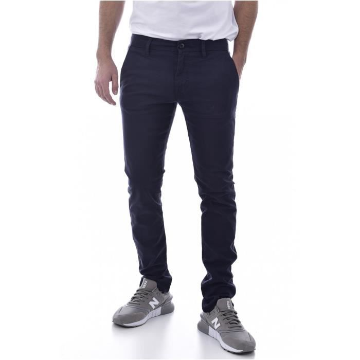 Chino stretch skinny imprimé Daniel - Guess jeans - Homme