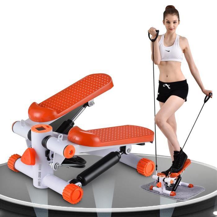 TD® Stepper fitness appartement mini cordes élastiques poignée homme femme sport perte de poids maigrir sportifs débutant confirmé