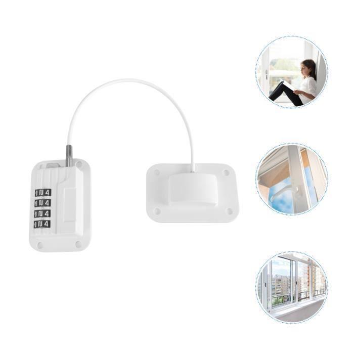 1pc Enfants De Protection Réfrigérateur de Verrouillage Câble Sécurité Serrure Fenêtre Porte CUISINIERE - PIANO DE CUISINE