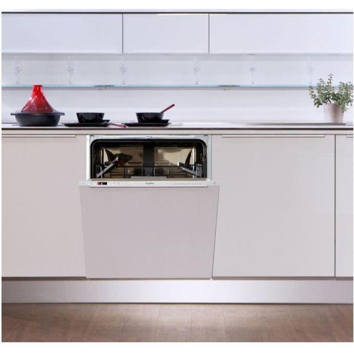 WHIRLPOOL Lave-vaisselle tout intégrable WKIC3C26 - 14 couverts - Classe : A
