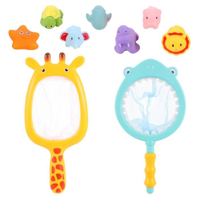 2 ensembles jouet de bain de haute qualité premier de durable robuste de flottant de presser pour bébé BATH TOY