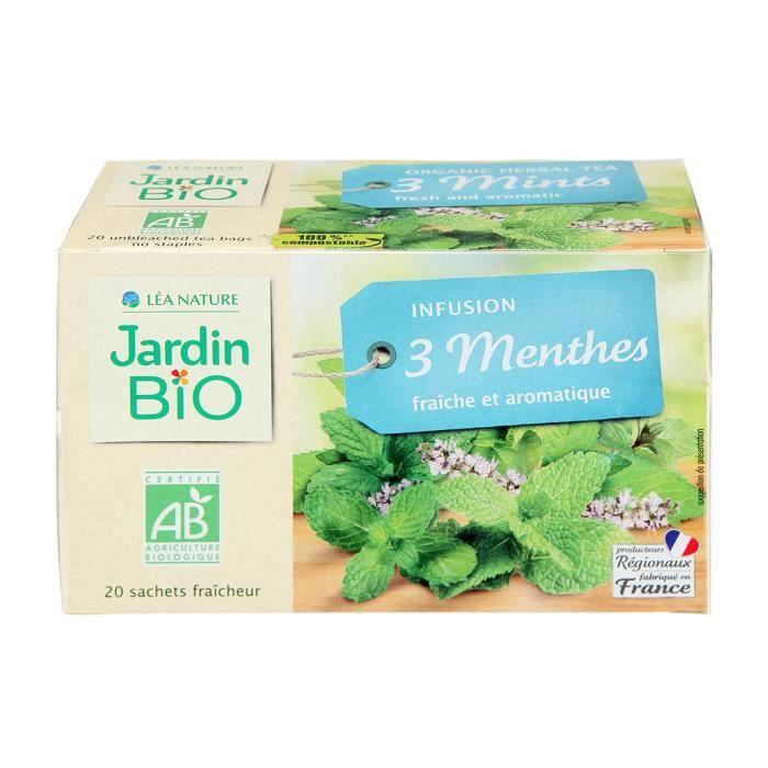 JARDIN BIO Infusion 3 menthes bio - 30 g