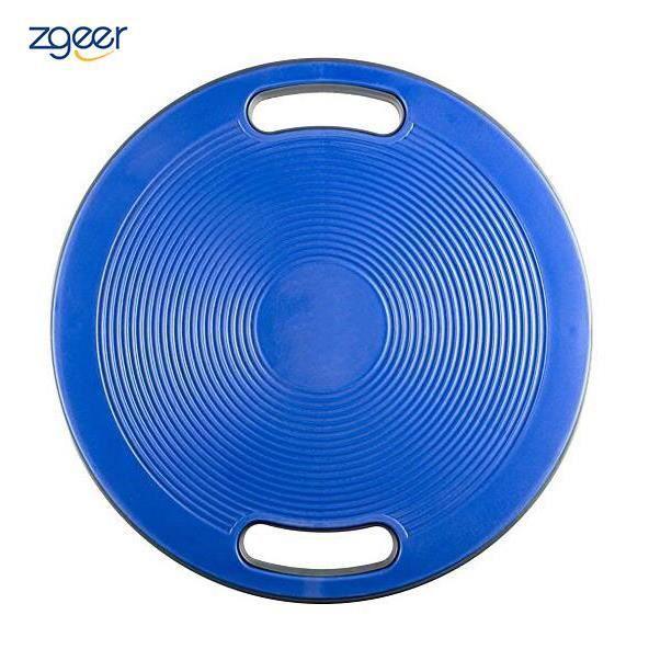 Planche D'équilibre / Balance Board avec Poignées - 40 cm de Diamètre - Travaille la Coordination Musculaire, L'équilibre et Le Gain