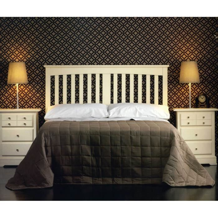 t te de lit en bois mod le marbella achat vente. Black Bedroom Furniture Sets. Home Design Ideas
