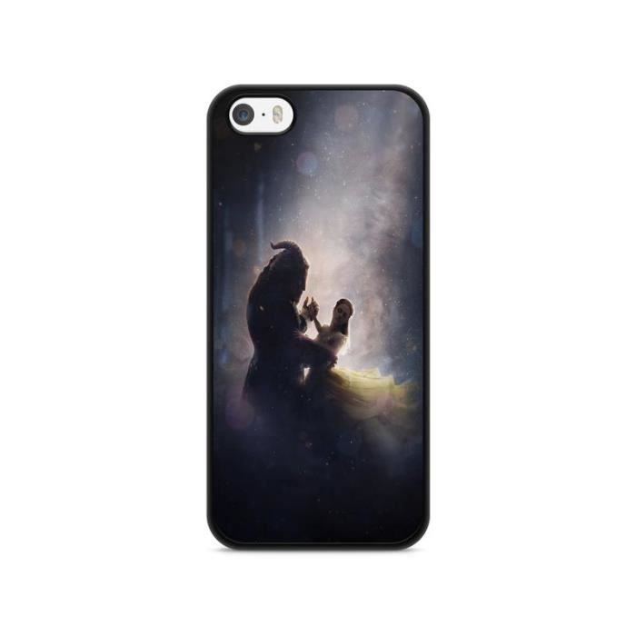 coque iphone 6 6s belle et la bete disney prince