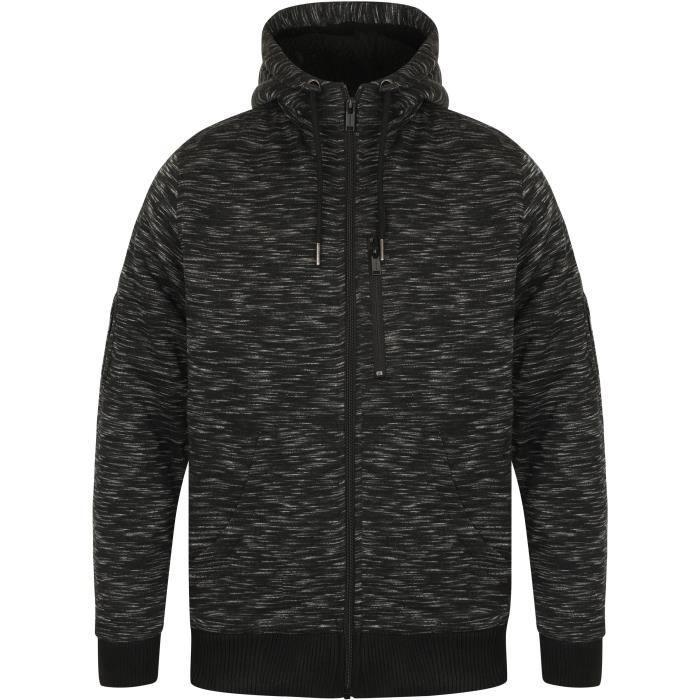 hoodie fourré homme