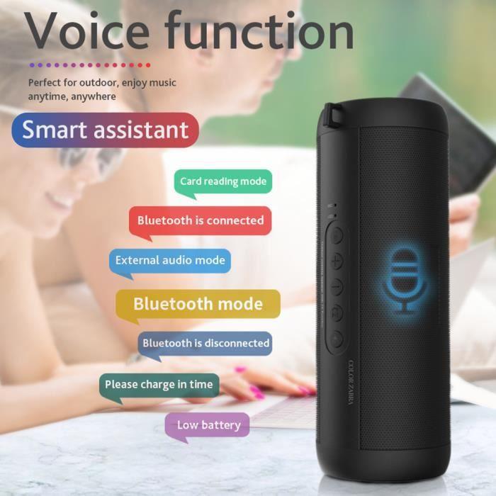 ENCEINTES ORDINATEUR T2 Bluetooth musique basse haut-parleur étanche Po