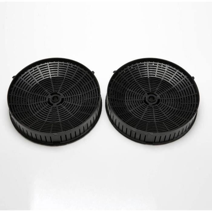 Elica CFC0140343 Filtre /à charbon actif pour hotte Noir 2 Paar