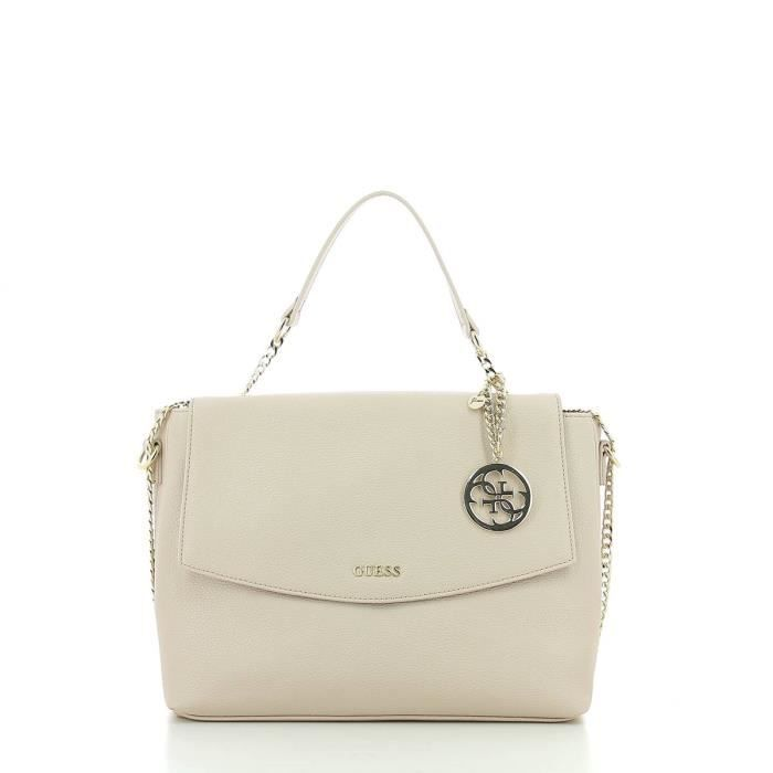 Guess - Isabeau Top Handle Sac à main - HWISAEP7319-NUD-UN - NUDE
