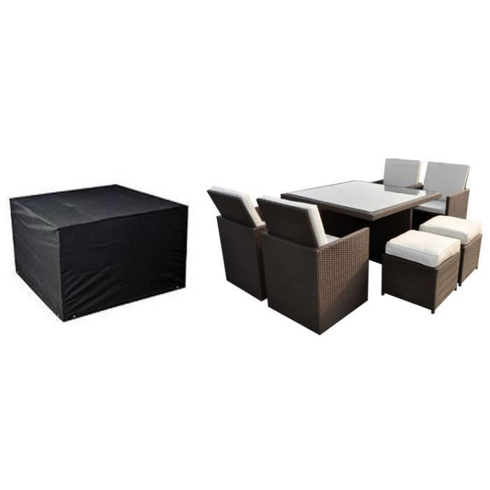 emejing housse table salon de jardin gallery. Black Bedroom Furniture Sets. Home Design Ideas